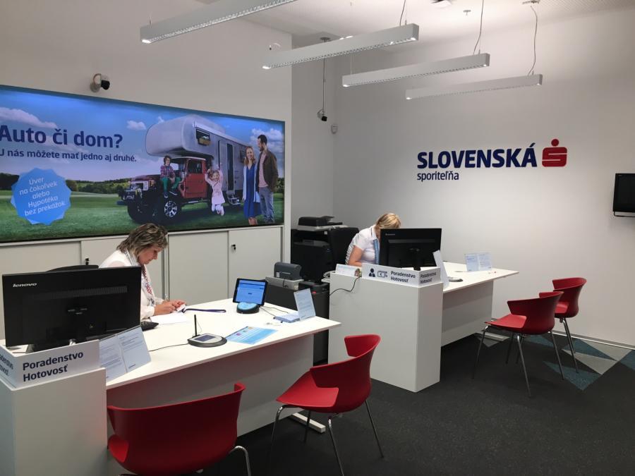 Slovenská sporiteľňa v Leviciach  253d44bbf81